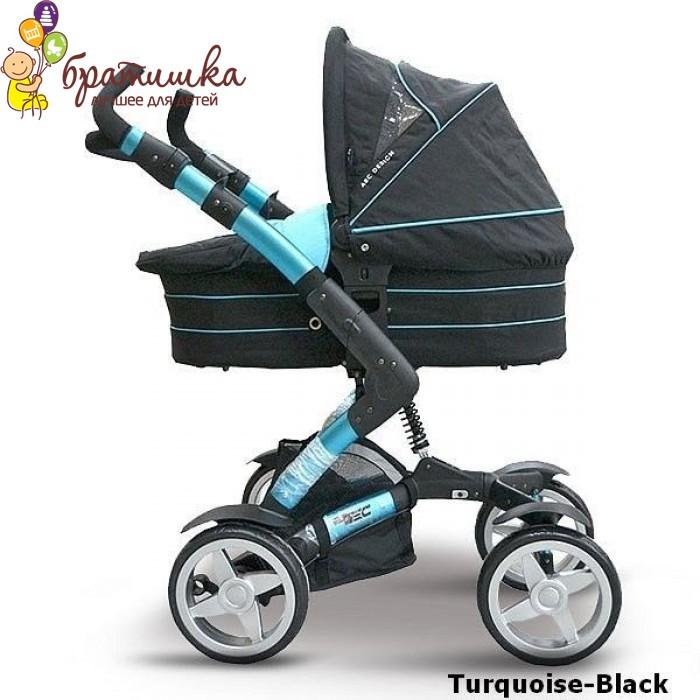 ABC Design 4-Tec 2 в 1, цвет Turquoise-Black