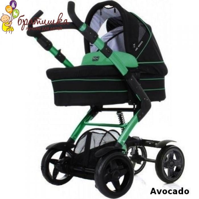 ABC Design 4-Tec 2 в 1, цвет Avocado