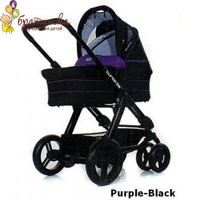 ABC Design Turbo 6S, цвет Purple-Black