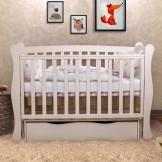 Детская кроватка Angelo Lux 1 с маятником