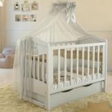 Детская кроватка Angelo Lux 2 с маятником