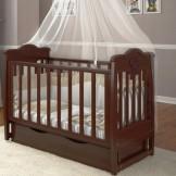 Детская кроватка Angelo Lux 5 с маятником