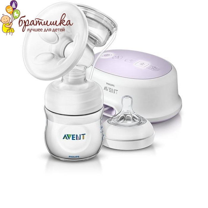 Одинарный электрический молокоотсос Avent Comfort SCF332/01/579113, цвет белый