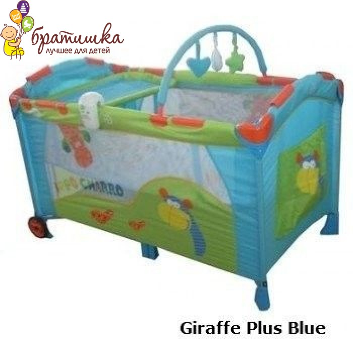 Baby Care M170, цвет Giraffe Plus Blue