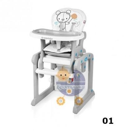 Стульчик для кормления Baby Design Candy