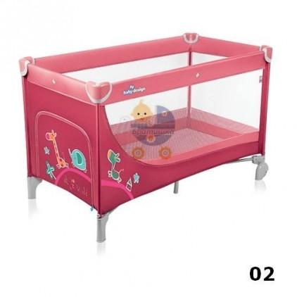 Детский манеж-кровать Baby Design Simple