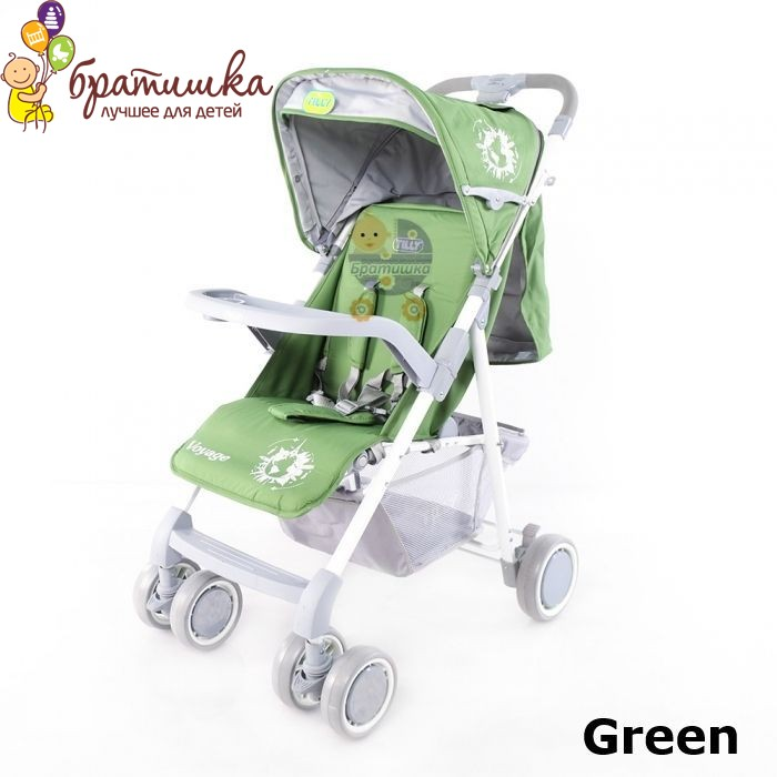 Baby Tilly Voyage, цвет Green