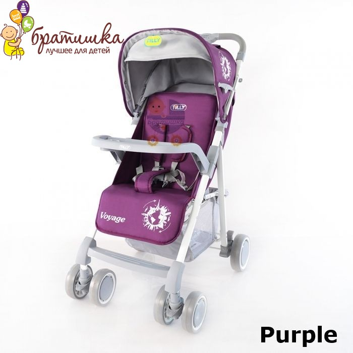 Baby Tilly Voyage, цвет Purple