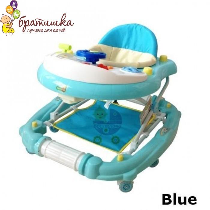 Детские ходунки Babyhit Emotion Racer, цвет Blue
