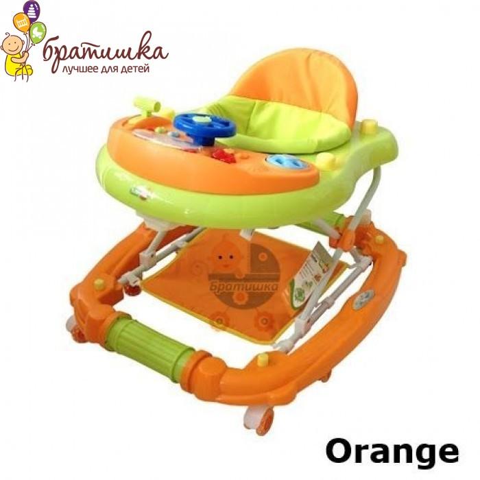 Детские ходунки Babyhit Emotion Racer, цвет Oange