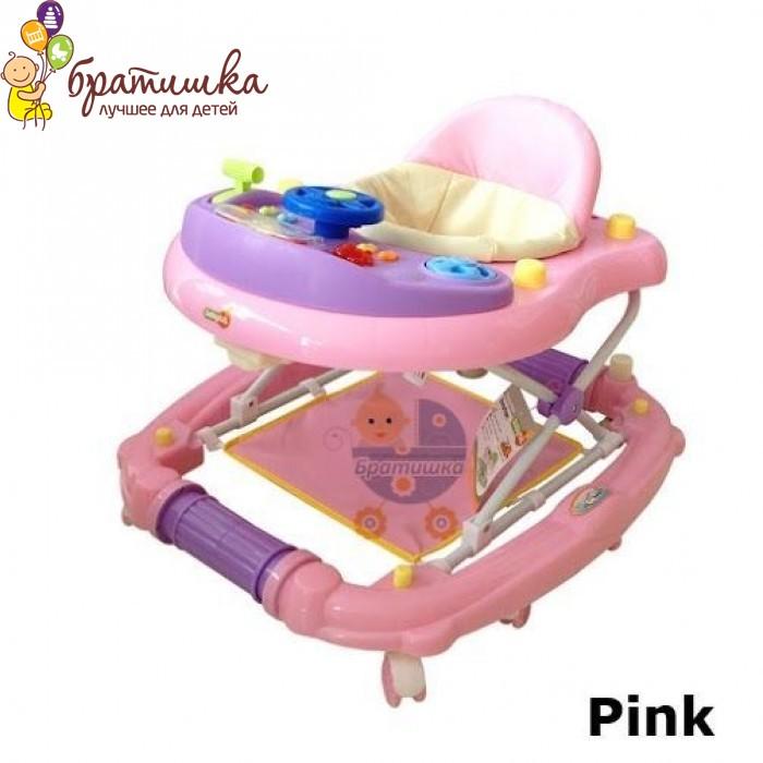 Детские ходунки Babyhit Emotion Racer, цвет Pink