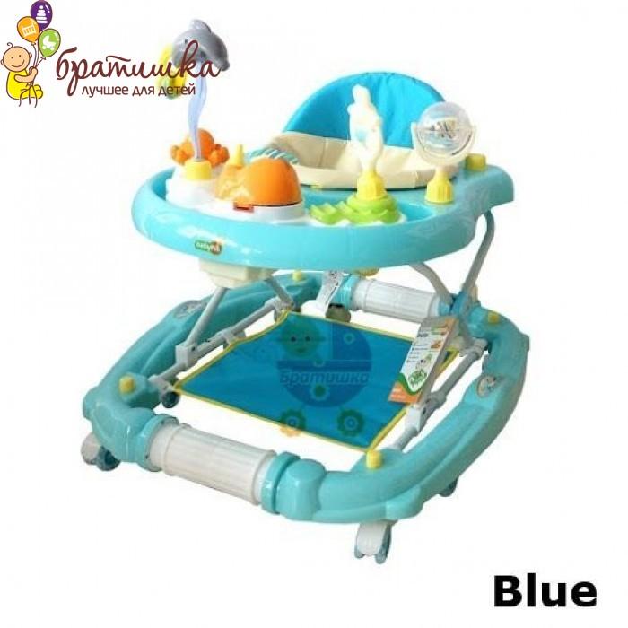 Детские ходунки Babyhit Emotion Zoo, цвет Blue