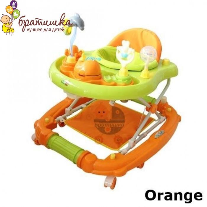 Детские ходунки Babyhit Emotion Zoo, цвет Orange