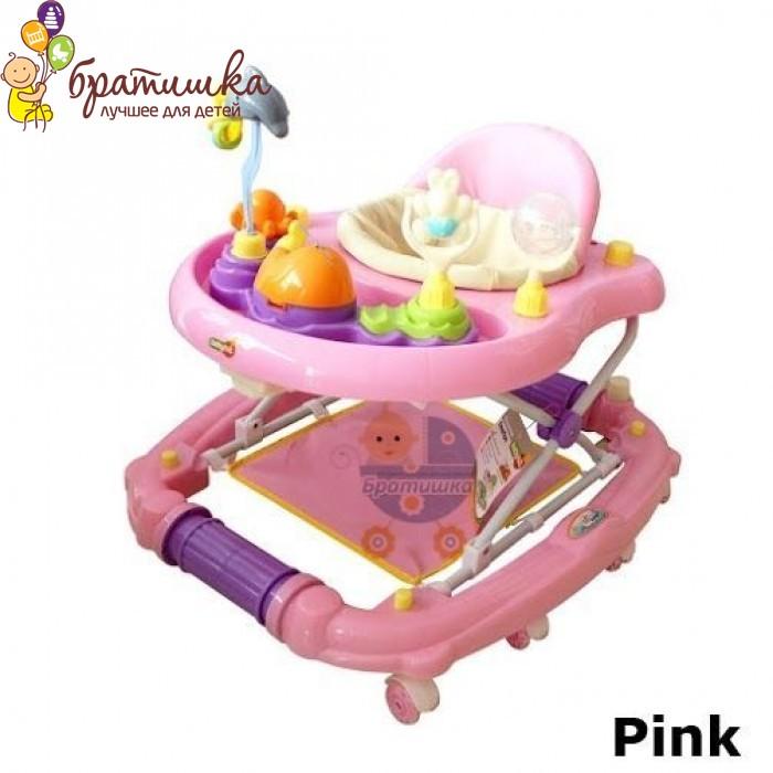 Детские ходунки Babyhit Emotion Zoo, цвет Pink
