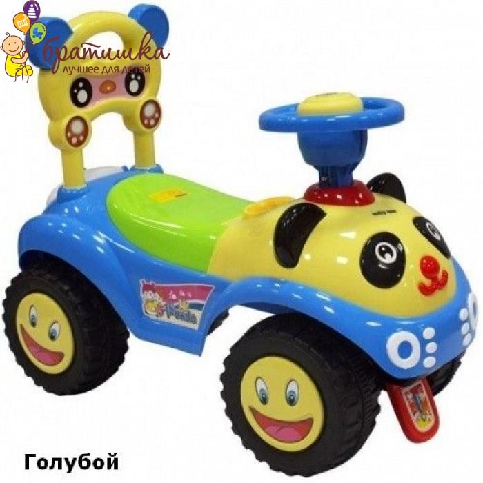Машинка-каталка Baby Mix Panda, цвет Голубой