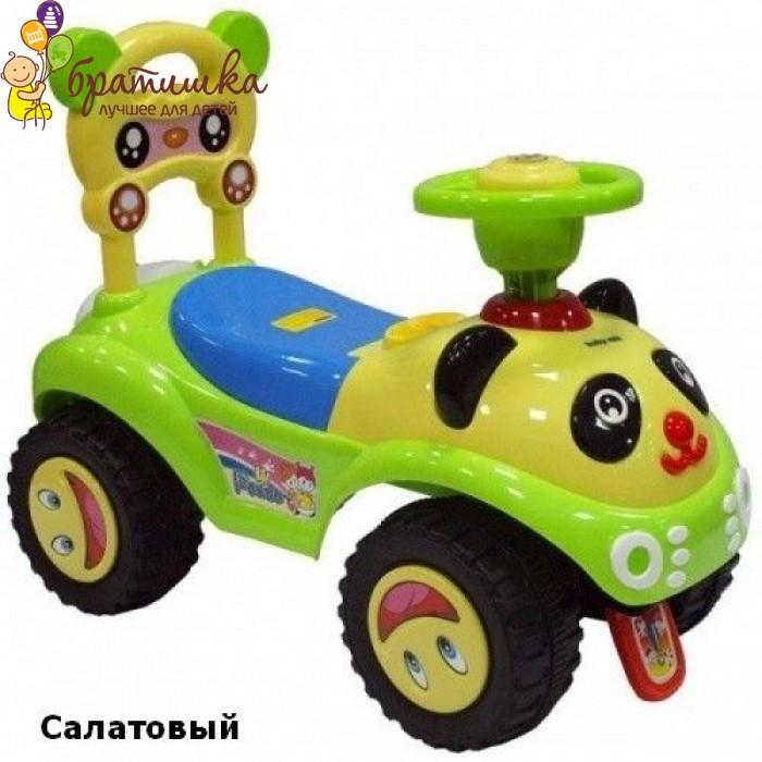 Машинка-каталка Baby Mix Panda, цвет Салатовый