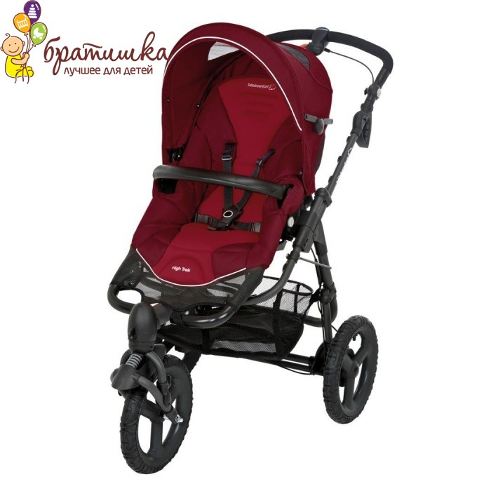 Bebe Confort High Trek, цвет Raspberry Red