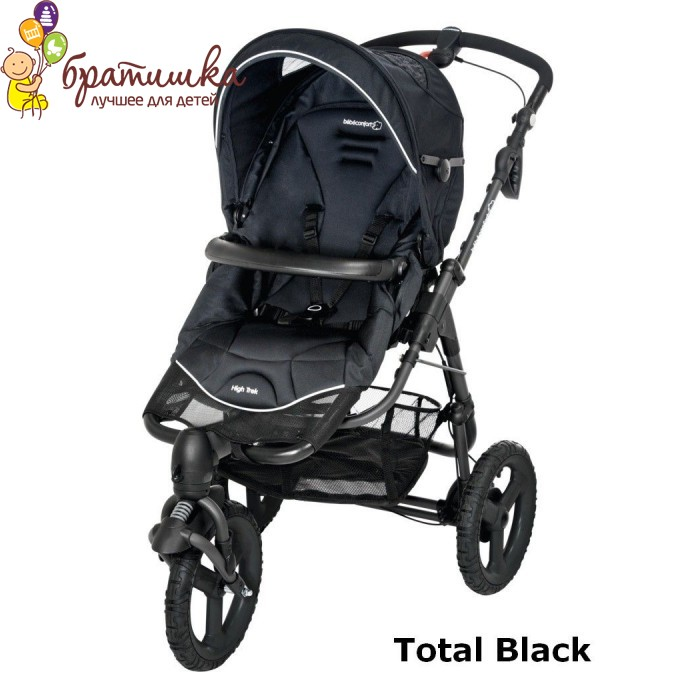 Bebe Confort High Trek, цвет Total Black