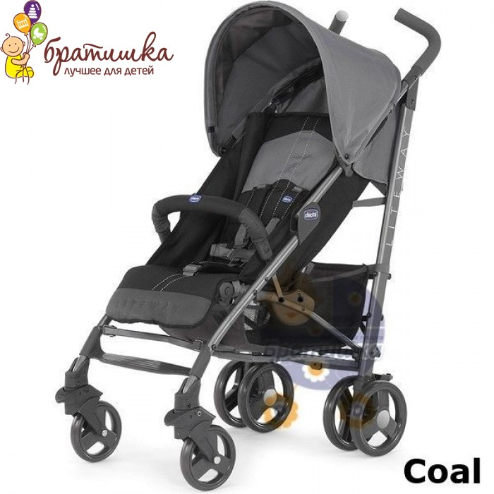 Chicco Lite Way, цвет Coal