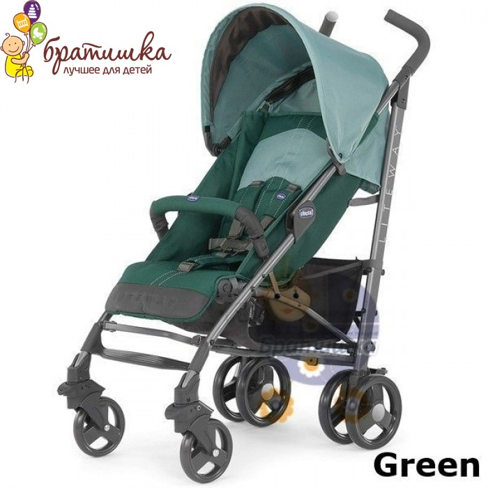 Chicco Lite Way, цвет Green