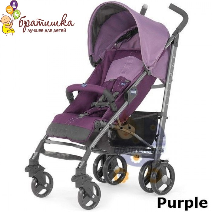 Chicco Lite Way, цвет Purple