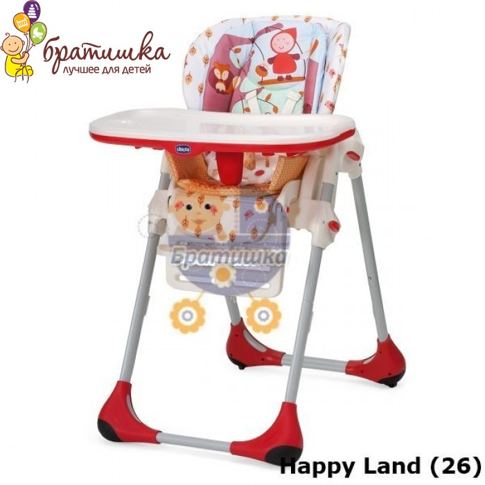 Chicco Polly 2 в 1, цвет Happy Land