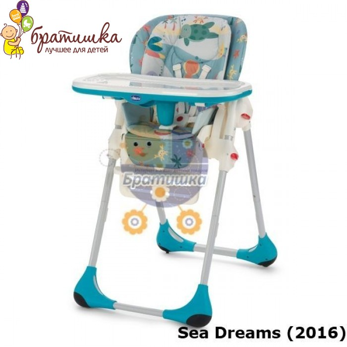 Chicco Polly 2 в 1, цвет Sea Dreams