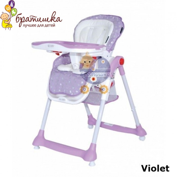 Coletto Teddy Silver, цвет Violet