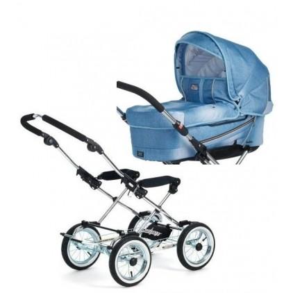 Классическая коляска Emmaljunga Mondial Duo Combi Classic Chrome