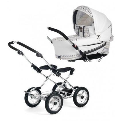 Классическая коляска Emmaljunga Mondial Duo Combi Classic Cryptonite