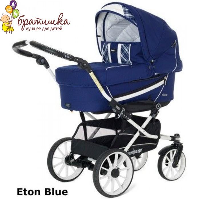 Emmaljunga Edge Duo Combi Duo S, цвет Eton Blue