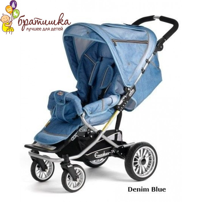 Emmaljunga Scooter S, цвет Denim Blue