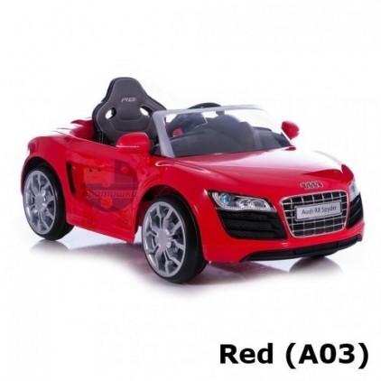 Детский электромобиль Geoby W458QG Audi R8 Spyder