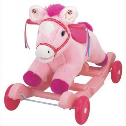 Чудокачалка «Поющий пони (розовый)» Kiddieland