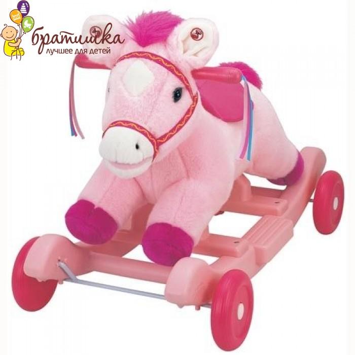 Чудокачалка «Поющий пони (розовый)» Kiddieland, цвет Розовый