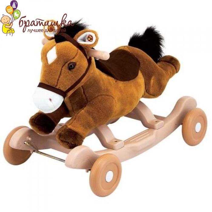 Чудокачалка «Поющий пони (коричневый)» Kiddieland, цвет Коричневый