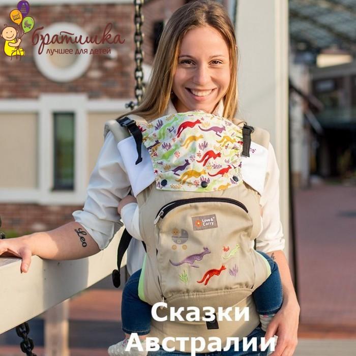 Эрго рюкзак Love & Carry Air, цвет Сказки Австралии