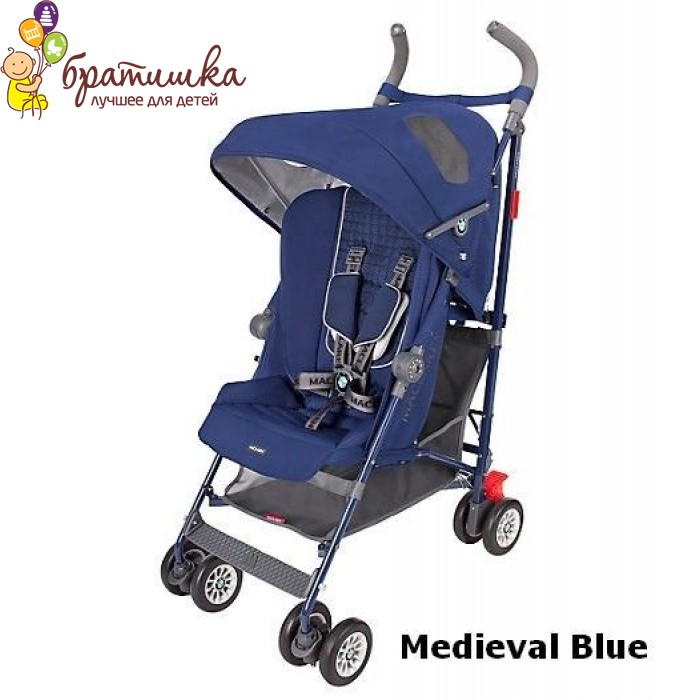 Maclaren BMW, цвет Medieval Blue