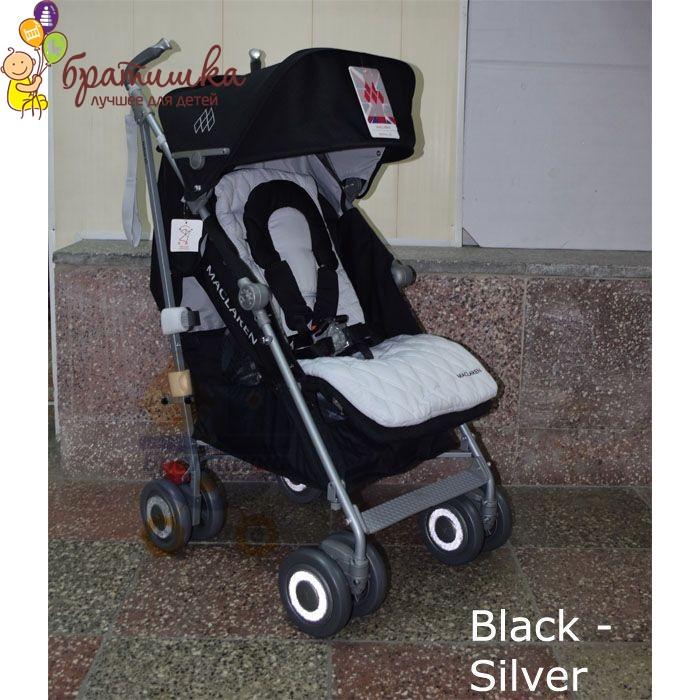 Maclaren Techno XLR, цвет Black - Silver
