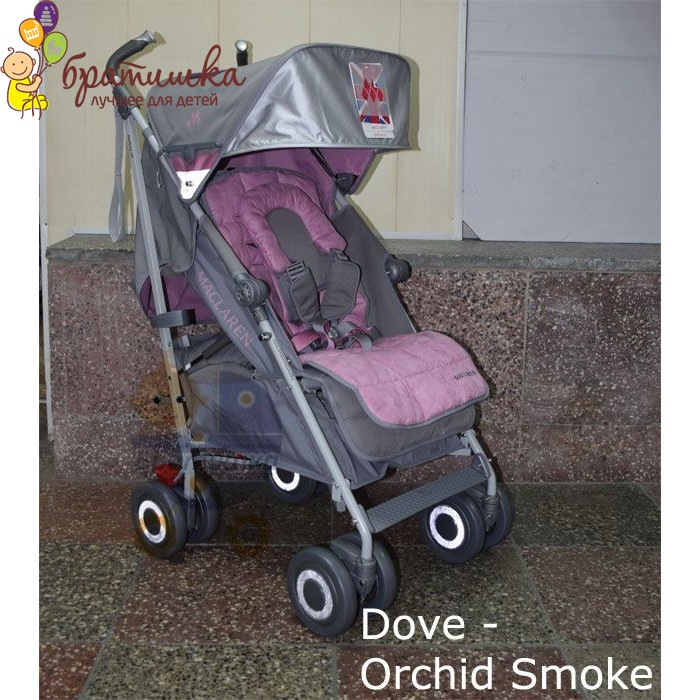 Maclaren Techno XLR, цвет Dove - Orchid Smoke