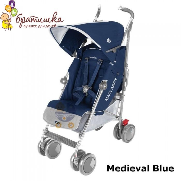 Maclaren Techno XT, цвет Medieval Blue