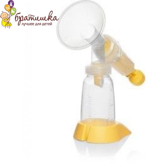 Механический молокоотсос Medela Base Manual Breastpump (005.2032), цвет Желтый