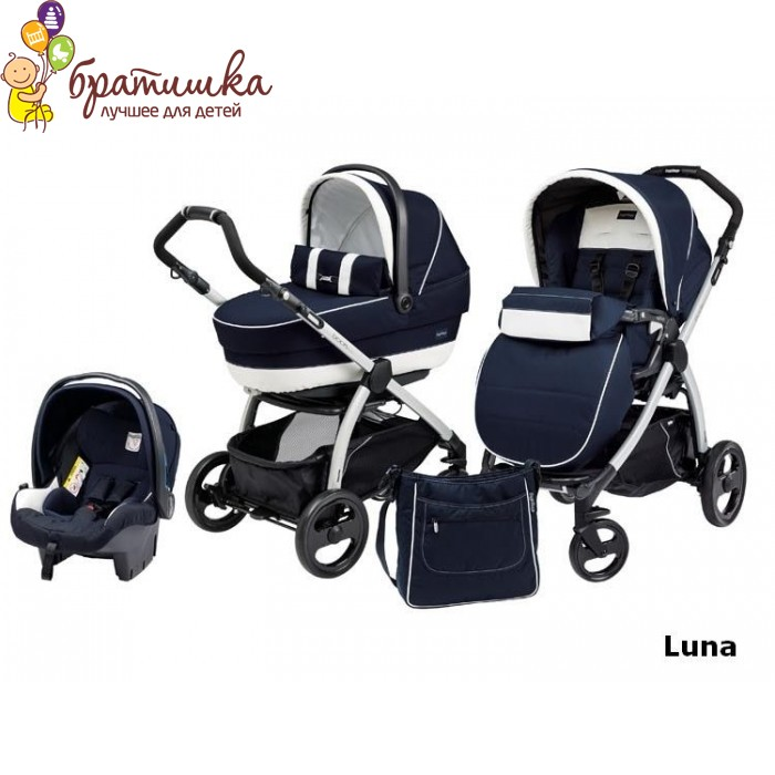 Peg-Perego Book Plus Modular, цвет Luna