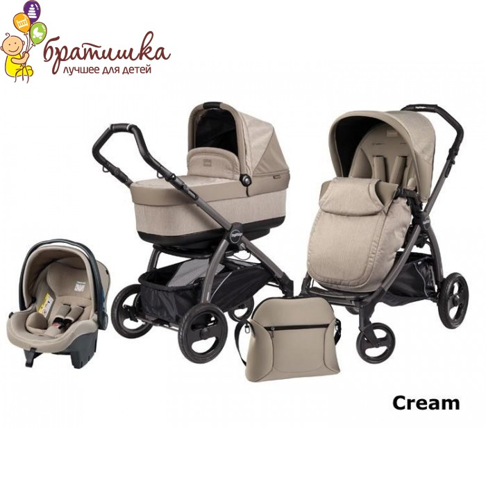 Peg-Perego Book Plus Modular Pop-Up, цвет Cream