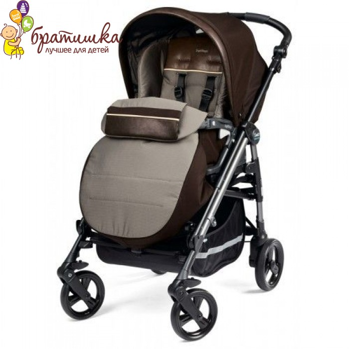Peg Perego Pliko Switch Easy Drive, цвет Chocolate