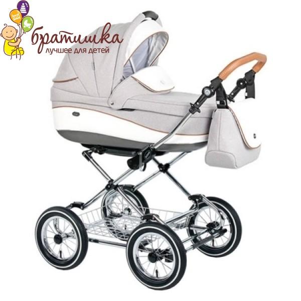 Классическая коляска Roan Emma Chrome 2018 2 в 1