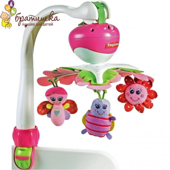 Мультифункциональный мобиль Tiny Love Крошка Принцесса 3 в 1, цвет Розовый