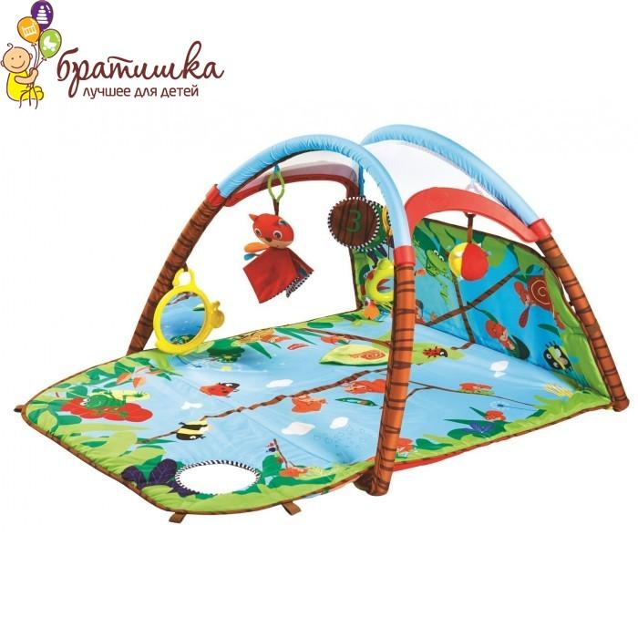 Развивающий коврик Tiny Love Лесной Домик игровая площадка, цвет Зеленый
