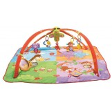 Развивающий коврик Tiny Love Разноцветное Сафари 5 в 1 с дугами