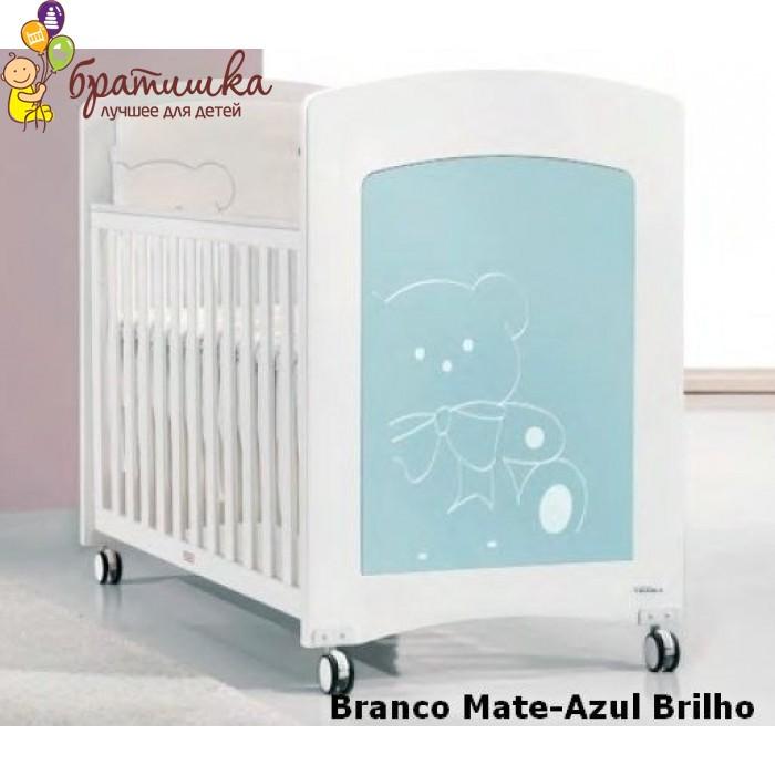 Trama Kiaro, цвет Branco Mate-Azul Brilho
